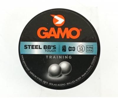 Стальные шарики Gamo BBS 4,5 мм, 500 штук