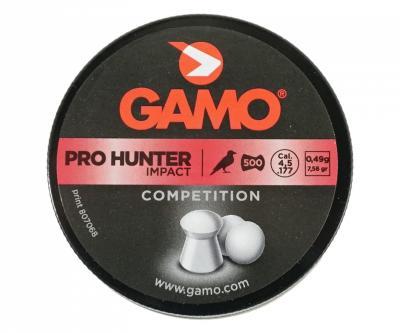 Пули Gamo Pro Hunter 4,5 мм, 0,49 грамм, 500 штук