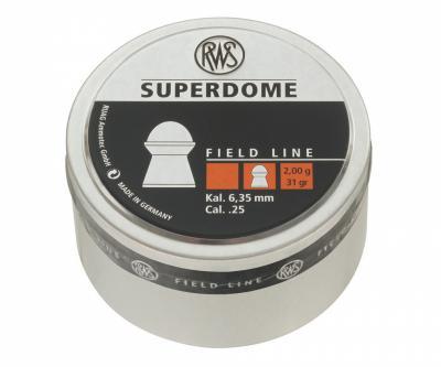 Пули RWS Superdome 6,35 мм, 2,0 грамм, 200 штук