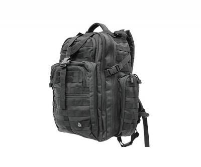 Рюкзак тактический UTG 3-Day Black, внешние карманы, 50x40x25 см (PVC-P372B)