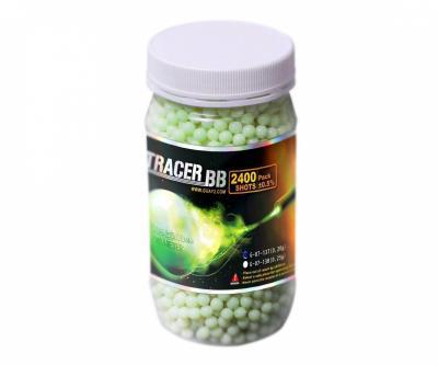Шары трассерные G&G Tracer 0,20 г, 2400 штук (зеленые) G-07-137