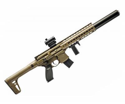 Пневматическая винтовка Sig Sauer MCX FDE-R (коллиматор)