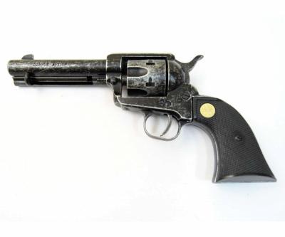 Сигнальный револьвер Colt Peacemaker M1873, античный