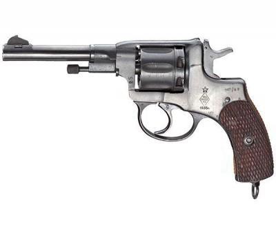Сигнальный револьвер Р-2 (Наган)
