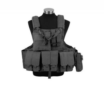 Разгрузочный жилет Military Force Recon Tactical (600D) VT0010 Black