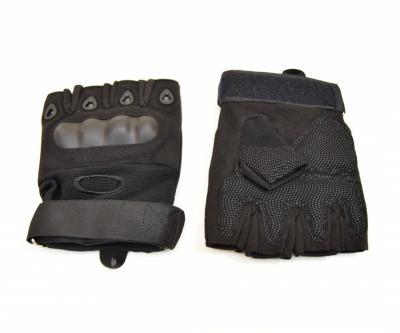 Перчатки с обрезанными пальцами Oakley tac-023b Black