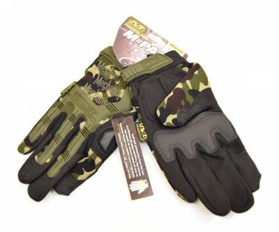 Перчатки Mechanix M-Pact Camouflage Green (P24-0207)