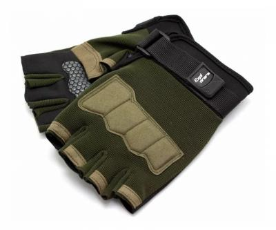 Перчатки тактические Стикхант Explorer укороченные (хаки)