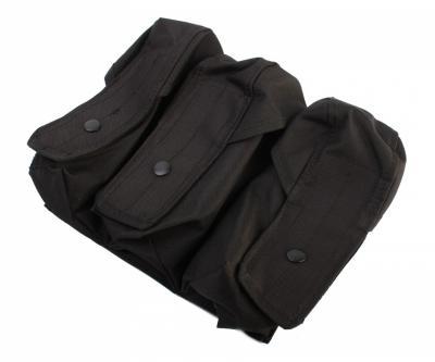 Подсумок тройной для AK Black (PH155)