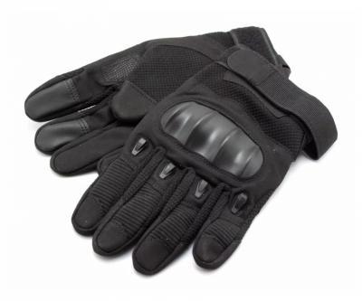 Перчатки тактические Стикхант Sniper прорезин. кастет I-Touch (черные)
