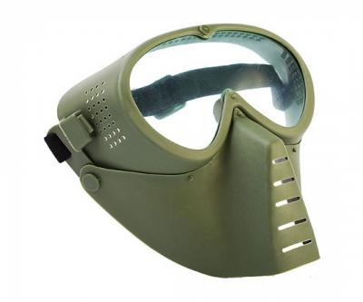 Маска защитная полнолицевая, с прозрачными линзами (OD) TD001G