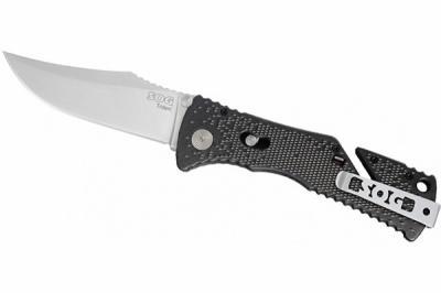 Нож полуавтоматический SOG Trident TF-2