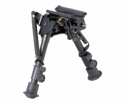 Сошки с качающейся базой, на антабку, вивер и в обхват ствола, 130-230 мм (BH-BP02)