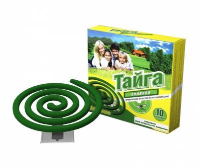 Спирали от комаров «Тайга» (ИН-006)