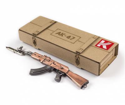 Макет автомата АК-47 (большой) 20 см