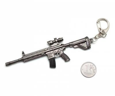 Брелок Microgun SR винтовка Heckler und Koch M416