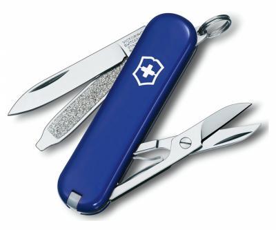 Нож-брелок Victorinox Classic SD 0.6223.2 (58 мм, синий)