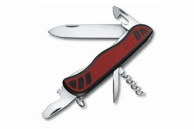 Нож складной Victorinox Nomad 0.8351.C (111 мм, красный с черным)