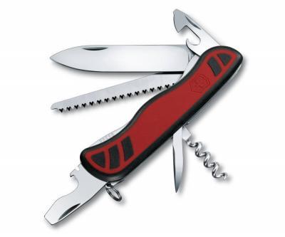 Нож складной Victorinox Forester 0.8361.C (111 мм, красный с черным)