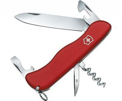 Нож складной Victorinox Adventurer 0.8953 (111 мм, красный)