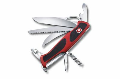 Нож складной Victorinox RangerGrip Hunter 0.9583.MC (130 мм, красный с черным)