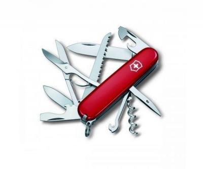 Нож складной Victorinox Huntsman 1.3713 (91 мм, красный)