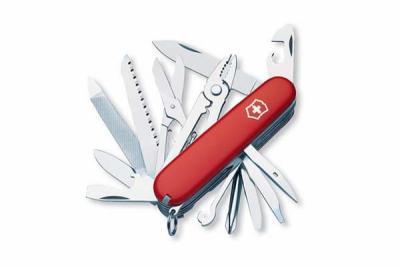 Нож складной Victorinox Craftsman 1.4773 (91 мм, красный)