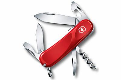 Нож складной Victorinox Evolution S101 2.3603.SE (85 мм, красный)