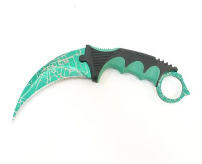 Нож-керамбит Viking Nordway CS0091 (CS-GO) зелёный