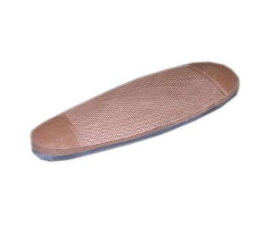 Тыльник для приклада 12 мм, невентилируемый, (BC001 brown)