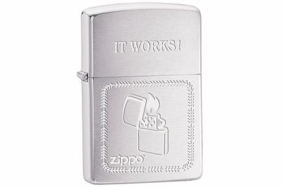 Зажигалка Zippo 200 It works (100.068)