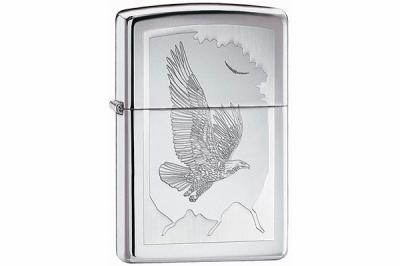 Зажигалка Zippo 21069 Birds High Polish Chrome