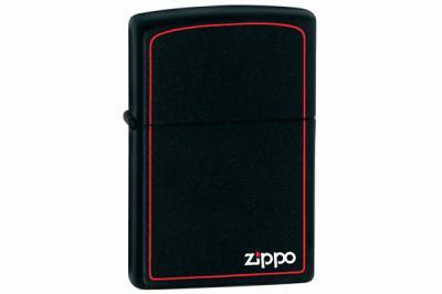 Зажигалка Zippo 218ZB Classic Style with Border, Black