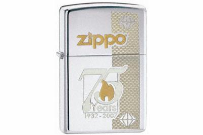Зажигалка коллекционная Zippo 24058 75Th Anniversary Commemorative Edition