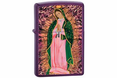 Зажигалка Zippo 24350 Purple Shimmer, Blessed Mother