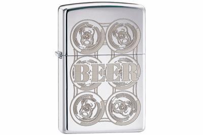 Зажигалка Zippo 24720 Six Pack Beer