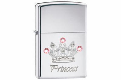 Зажигалка Zippo 24743 Jewelled Princess Swarovski