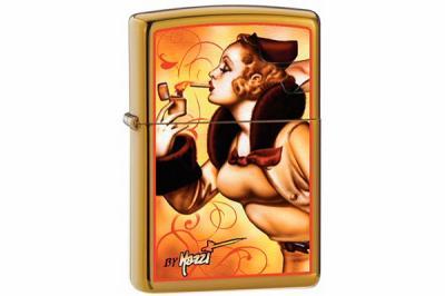 Зажигалка Zippo 24745 Claudio Mazzi Windy Girl