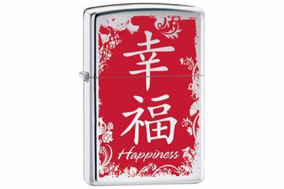 Зажигалка Zippo 28067 Chinese Symbol Happiness