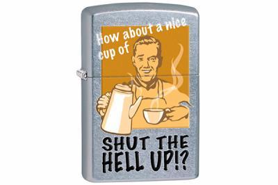 Зажигалка Zippo 28640 Shut the Hell Up