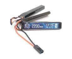 Аккумулятор BlueMAX Li-Po 11.1V 2200mah 20C, 3 x (102x20x10) мм (триплет)