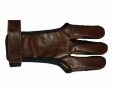 Напальчник традиционный коричневый (кожа)