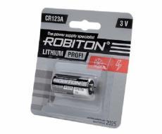 Элемент питания Robiton Profi R-CR123-BL1