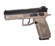 Пневматический пистолет ASG CZ P-09 DT-FDE blowback (пулевой)