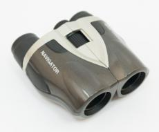 Бинокль Navigator 8-25x25 Compact, серебристо-серый