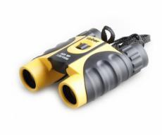 Бинокль Veber WP 10x25 черный, желтый