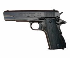 Макет пистолет Colt M1911, .45 калибра, пластик. рукоять (США, 1911 г.) DE-1227