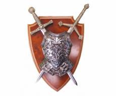 Панно, 2 мини-меча (Эскалибр и Тизона дСида), кираса, DE-506