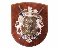 Панно, 2 мини-меча (Ричарда Львиное Сердце и Тамплиера), кираса, DE-518
