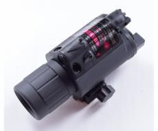 Подствольный фонарь с ЛЦУ (красный) с винтом (P24-0306)